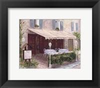 Restaurant Framed Print