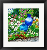 Framed Pots and Pansies