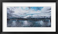 Framed Panoramic Painting
