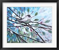 Framed Glimmering Songbird