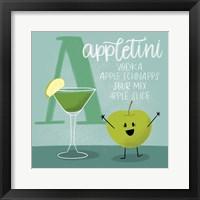 Framed Appletini