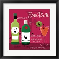 Framed Emerson