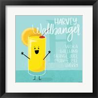 Framed Harvey Wallbanger
