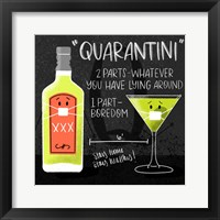 Framed Quarantini