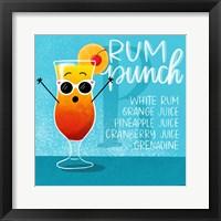 Framed Rum Punch