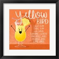 Framed Yellow Bird