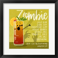 Framed Zombie