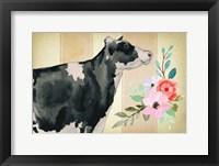 Framed Farmhouse Floral II