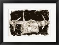 Framed Flying Cargo