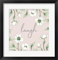 Framed Laugh