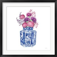 Chinoiserie Style III Framed Print