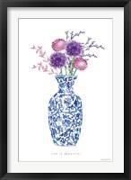 Chinoiserie Style II Framed Print