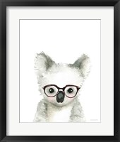 Framed Koala in Glasses