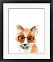 Framed Fox in Glasses