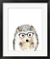 Framed Hedgehog in Glasses