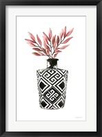 Geometric Vases III Framed Print
