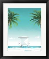 Framed Malibu No Words