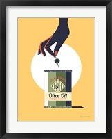 Framed Olive Oil