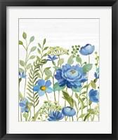 Botanical Blue VII Framed Print