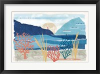 Framed Coastal View I