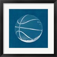 Ball Four Blueprint IV Framed Print