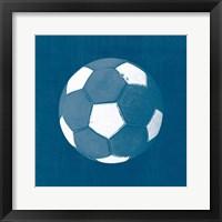 Ball Four Blueprint II Framed Print