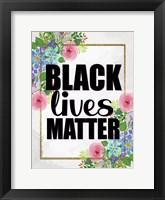 Framed Black Lives Matter