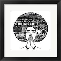 Framed Nubian Queen