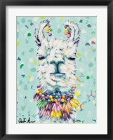 Framed Drama Llama I