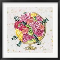 Framed Globe Healing