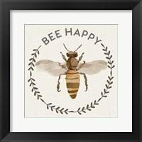 Framed Bee Hive I-Bee Happy