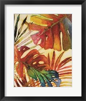 Tropic Botanicals I Framed Print