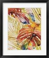 Tropic Botanicals II Framed Print