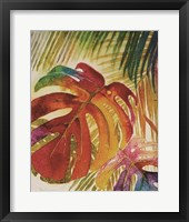 Tropic Botanicals IV Framed Print