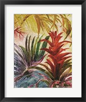 Tropic Botanicals VI Framed Print