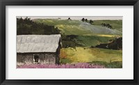 Framed Flower Field landscape