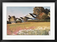 Framed Farmyard Landscape II