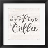 Framed Coffee Kitchen Humor III-Coffee