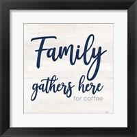 Framed Coffee Kitchen Humor IV-Family