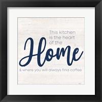 Framed Coffee Kitchen Humor VI-Home
