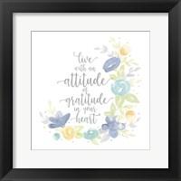 Framed Kellys Garden I-Attitude