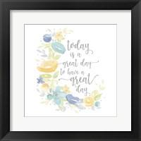 Framed Kellys Garden VI-Great Day