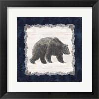 Framed Blue Cliff Mountains I-Bear