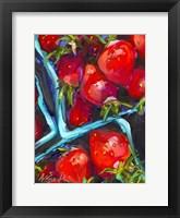 Framed Strawberry Carton