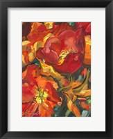 Framed Colorful Garden