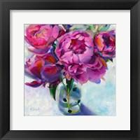 Framed Roses Still Life I