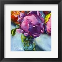 Framed Roses Still Life II