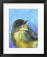 Framed Perched Bird