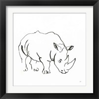 Framed African Animals V
