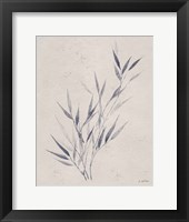 Soft Summer Sketches III Navy Framed Print